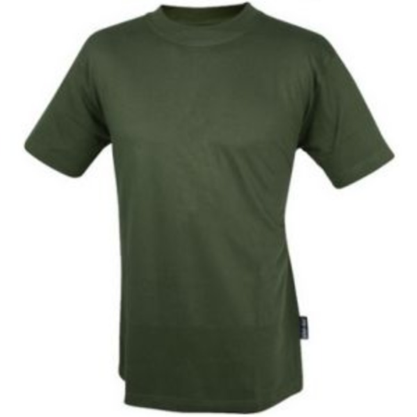Web-Tex Olive Green T-Shirt