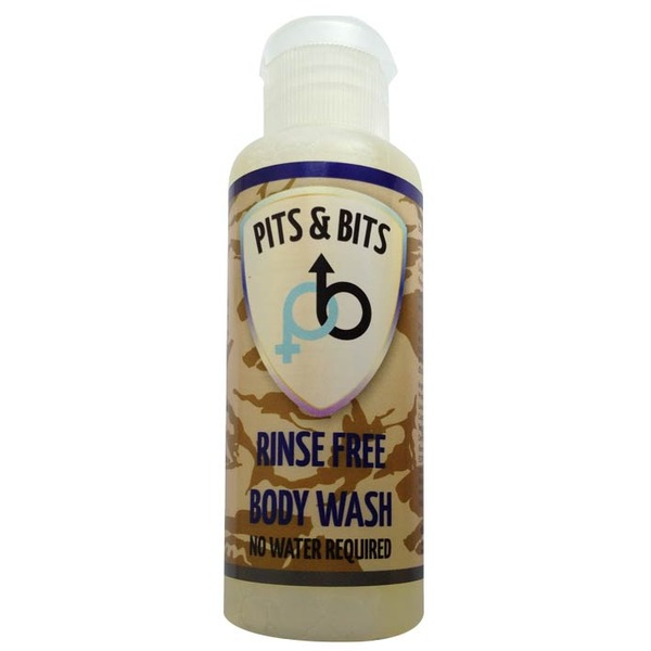 Pits & Bits Rinse Free Body Wash