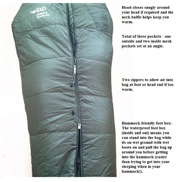 DD Jura 2 Sleeping Bag