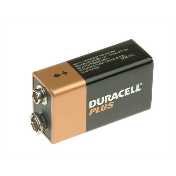 DURACELL 9V Cell Alkaline Batteries