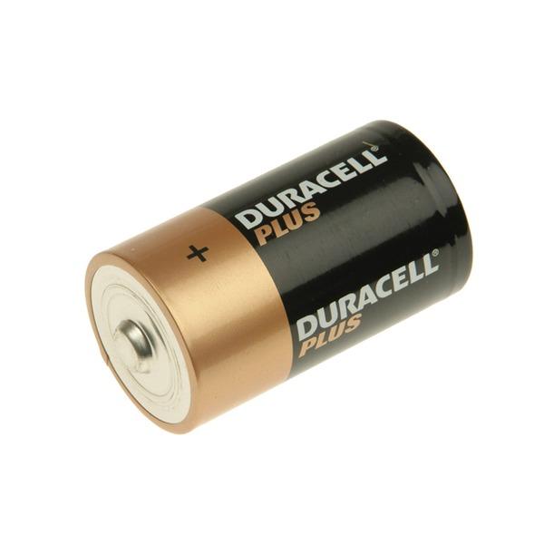 DURACELL Plus Power D Cell Alkaline Batteries