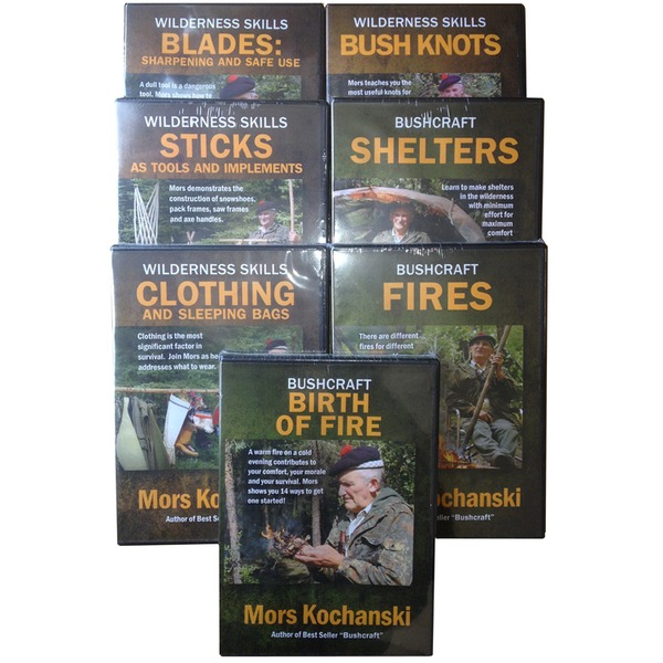 Maintaining Tools with 'Blades' DVD from Mors Kochanski