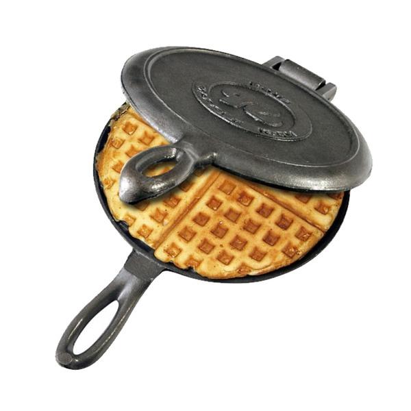 Cast Iron Campfire Waffle Iron