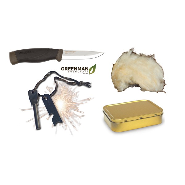 Mora 840 Companion and Fire Lighting Set