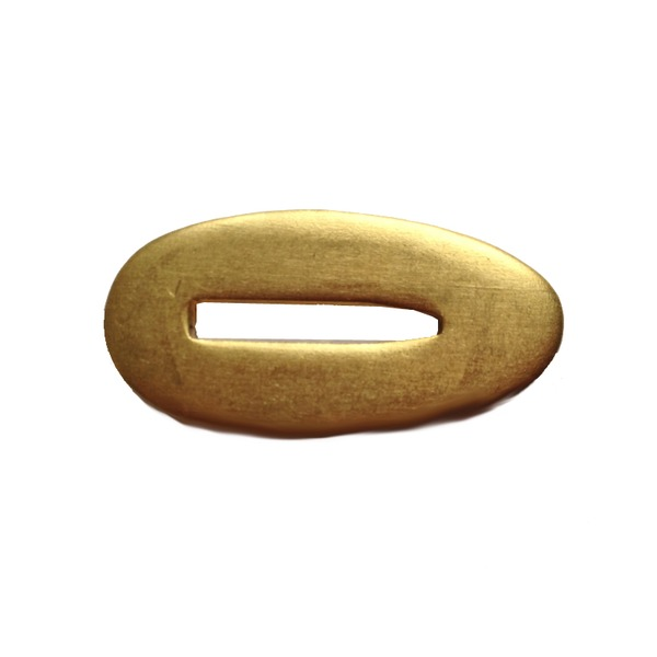 Brass Bolster 35 x 17mm
