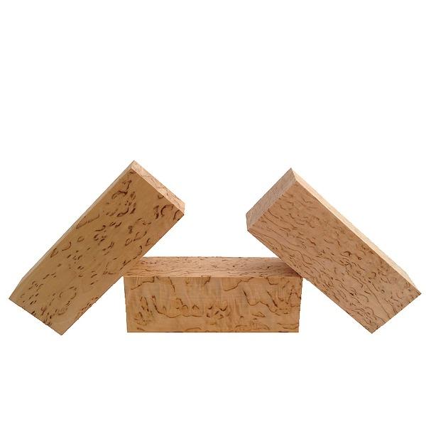 Curly Birch Wood | Premium Grade Grain