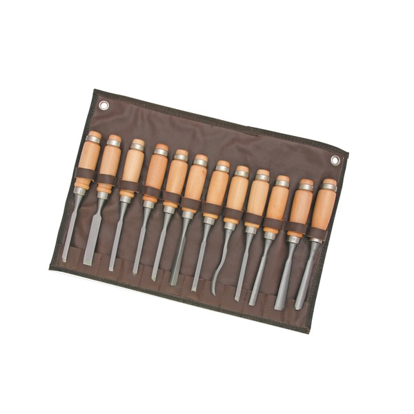 12 Piece Wood Carving Chisel Set