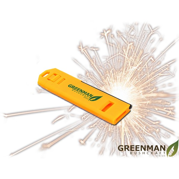 Greenman Bushcraft Fire Whistle Survival Tool