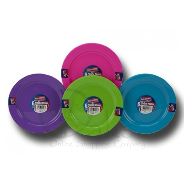 Plastic Outdoor Eating Plates