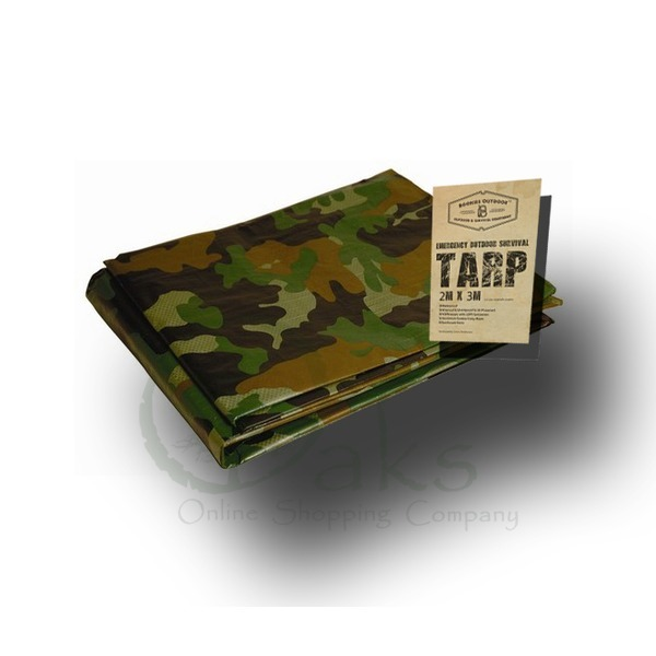 Boonies Outdoor Survival Tarp