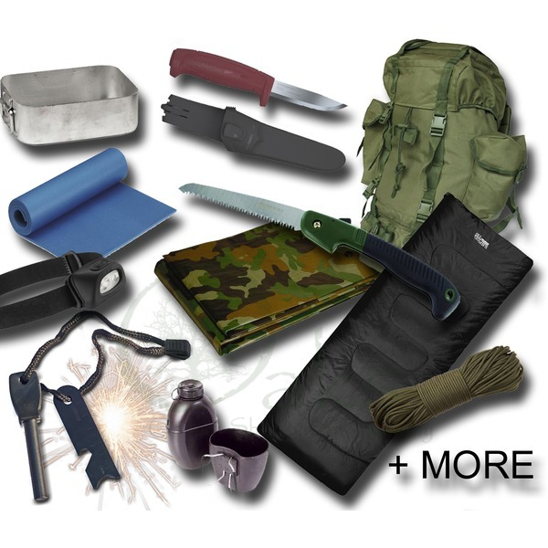 Budget Bushcraft Starter Kit for Under £100
