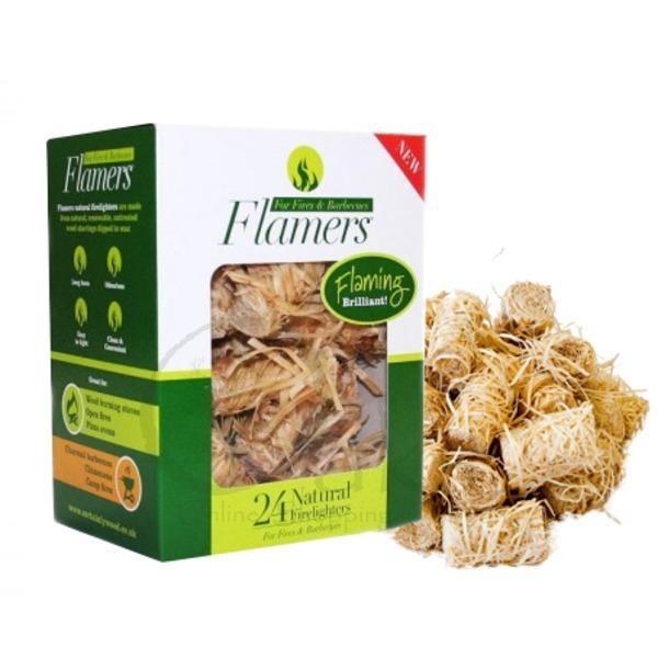 Flamers Natural Tinder Products | Greenman Bushcraft