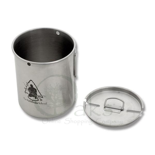 Pathfinder Stainless Steel 710ml (25oz) Cup & Lid Set
