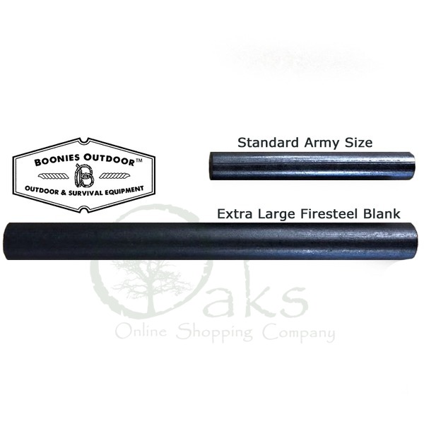 Extra Large Army Firesteel Blanks | Boonies Outdoor