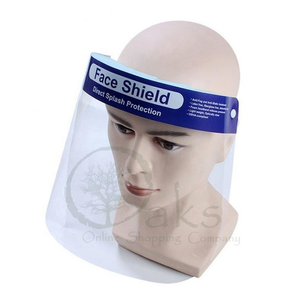 Face Shield For Virus and COVID-19 Protection