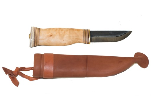 Wilderness Bushcraft Knife - Wide Blade