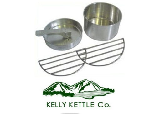 Kelly Kettle Large/Medium Cook Set (Stainless Steel)