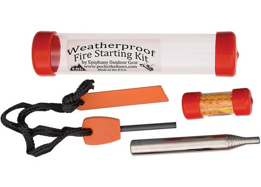 EOG Pocket Bellows Fire Starting Kit