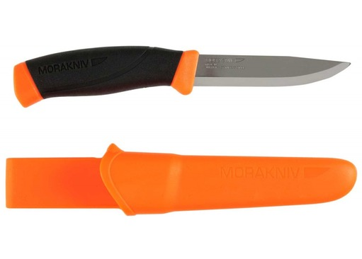 Mora 860F High Visibility Bushcraft Knife