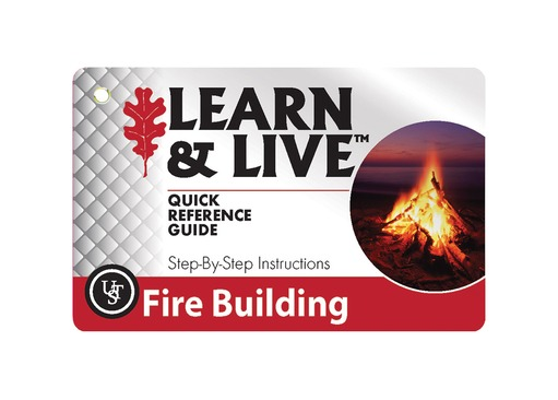 Fire Building Survival Cards