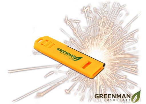 Greenman Bushcraft Fire Whistle Survival Tool