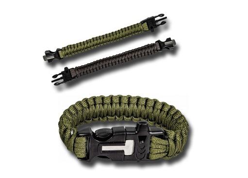 Paracord Firesteel Bracelets