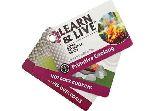 UST Learn and Live Primitive Cooking Cards