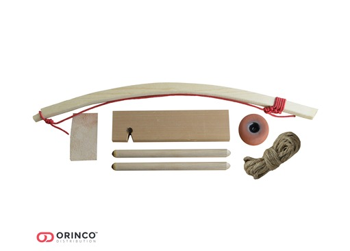 Starter Bow Drill Fire Kit