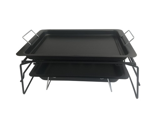 Portable Fire Pit Grill