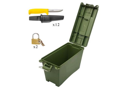 Forest School Safety Knife and Safe Set