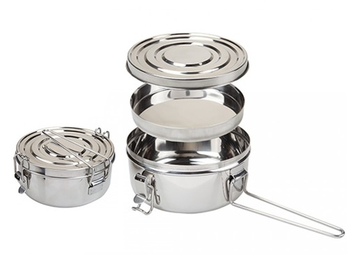 Stainless Steel Tiffin Cookset