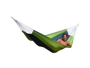 Amazonas Forest Green Silk Traveller Hammock
