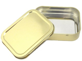 Fire Lighting Storage Tin