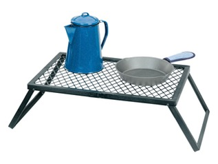 Heavy-Duty Steel Campfire Grill