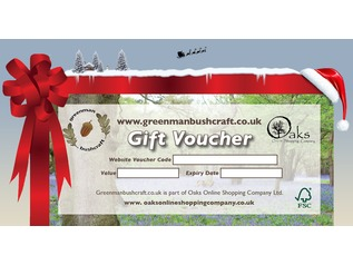 Greenman Bushcraft Vouchers