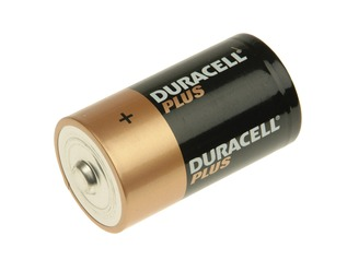 DURACELL Plus Power D Cell Alkaline Batteries
