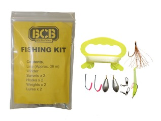 Bushcraft / Survival Hand Fishing Kit