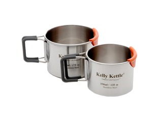 Kelly Kettle Stainless Steel Camping Mugs
