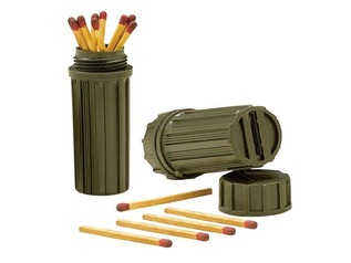 Greenman Waterproof Match and Survival Pots