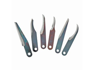 Razor Edge Six Piece Carving Blade Set