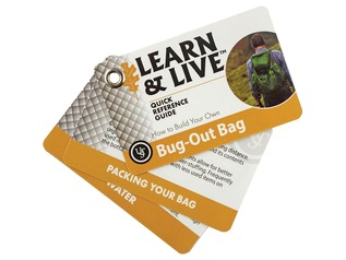 UST Learn & Live Bug Out Cards