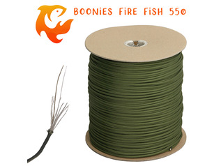 Boonies Outdoor Fire Fish 550 Paracord