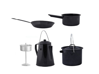 Outdoor Campfire Cooking Set