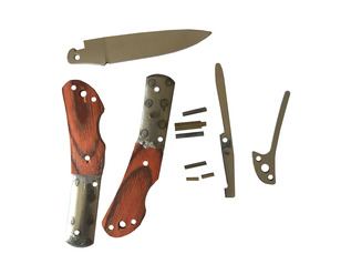 Make Your Own Folding Lock Knife Kit