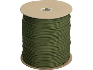 Boonies Outdoor Genuine Type III 550 Paracord on Reel | Olive